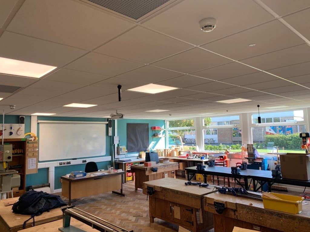 KATHARINE LADY BERKELEY SCHOOL electrical refurbishment 11