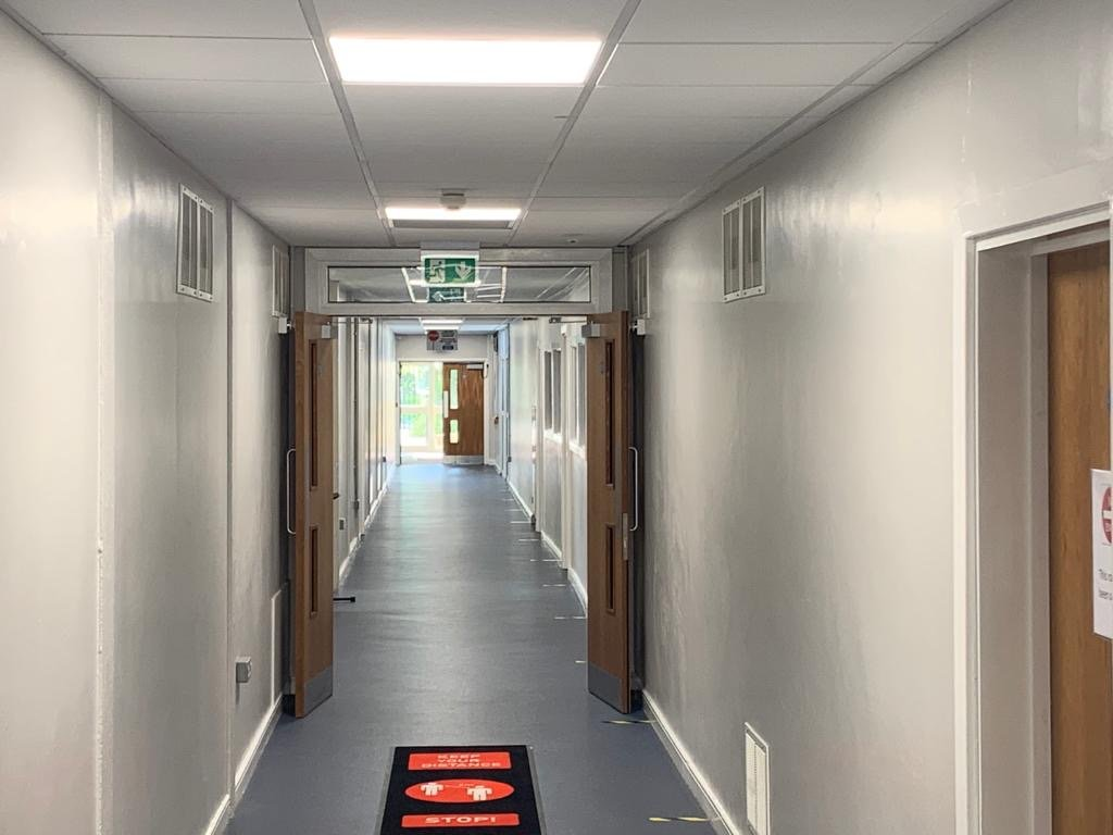 KATHARINE LADY BERKELEY SCHOOL electrical refurbishment 12