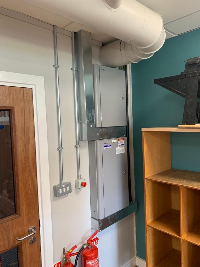 KATHARINE LADY BERKELEY SCHOOL electrical refurbishment 2