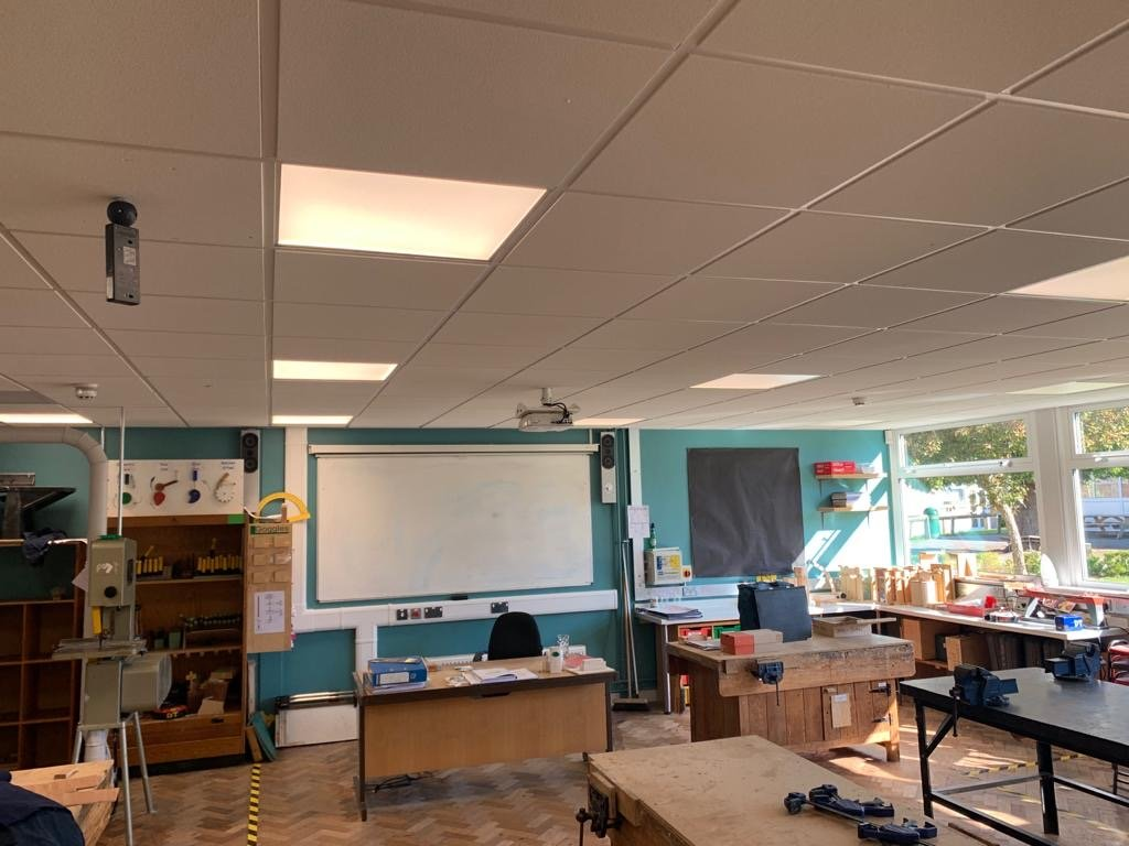 KATHARINE LADY BERKELEY SCHOOL electrical refurbishment 3
